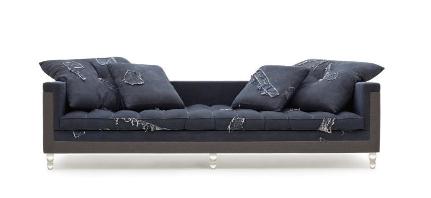 Sofá do designer Marcus Ferreira