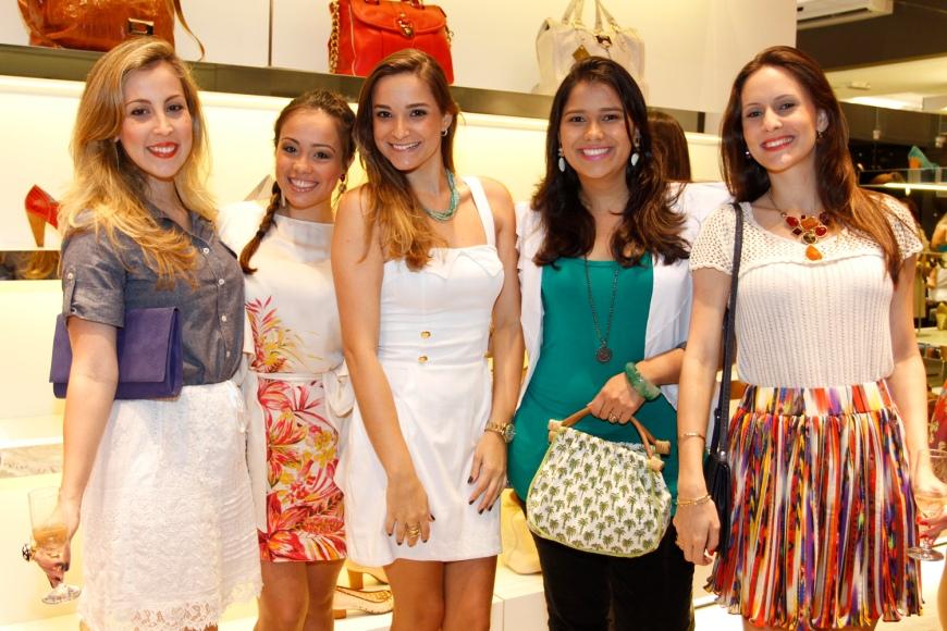 Lorena Vago, Lorraine Stoodley, eu, Clarissa leal e Ludmylla Altoé