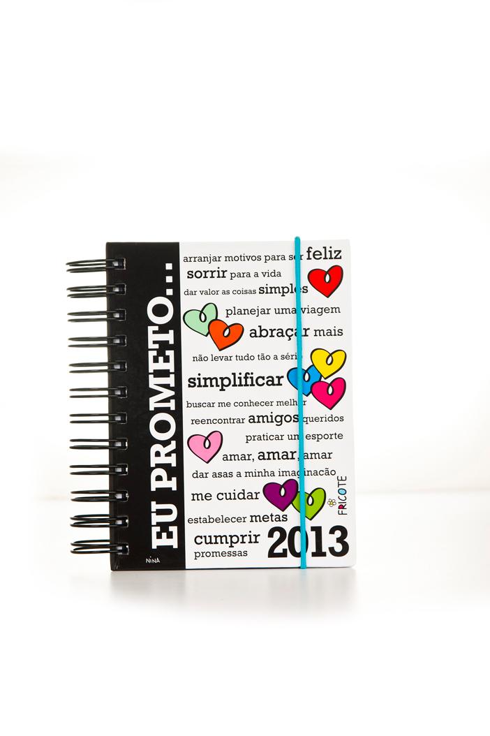 Agenda Fricote 2013 (frente) - R$ 39,00