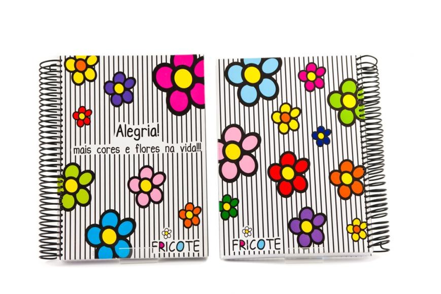 Caderno Fricote - Alegria R$48,00