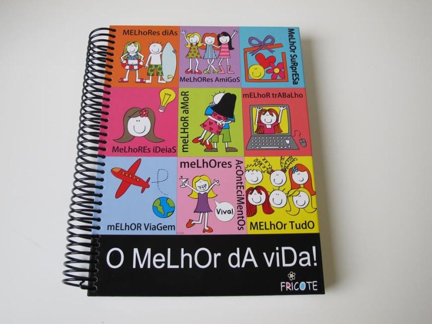caderno Fricote O Melhor da Vida - R$ 48,00
