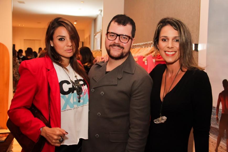Paula Sassi, Larissa Vereza, Eduardo Altoé